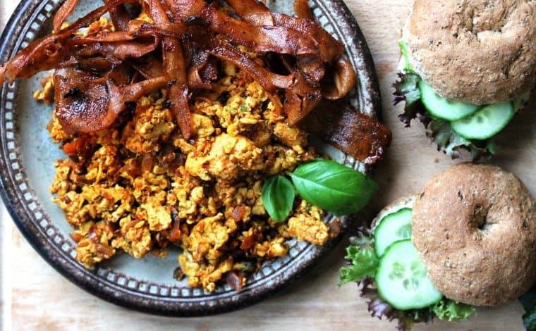 Cassava Bacon 'n Eggs - Truefoodsblog