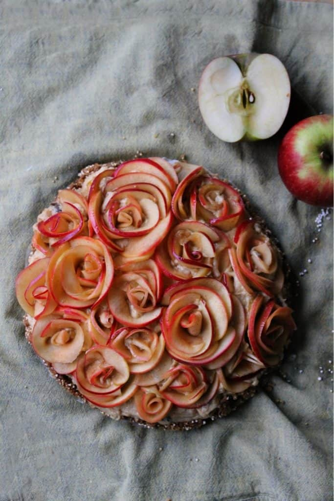 Vegan Rose Apple Pie Truefoodsblog