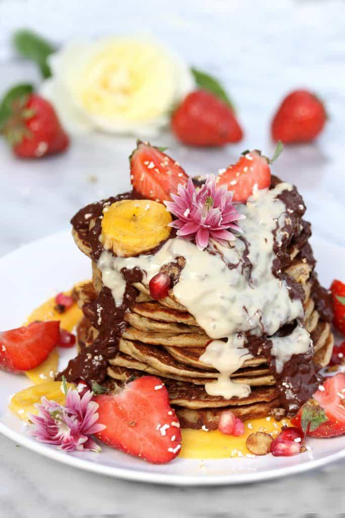 Healthy Pancakes - Truefoodsblog
