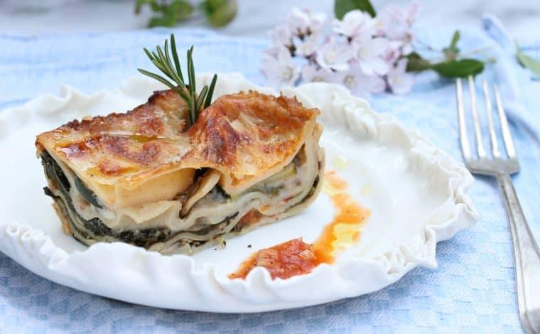 Vegetarian Spinach Lasagne