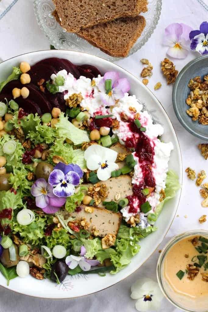 Black Forest Salad Bowl - Truefoodsblog