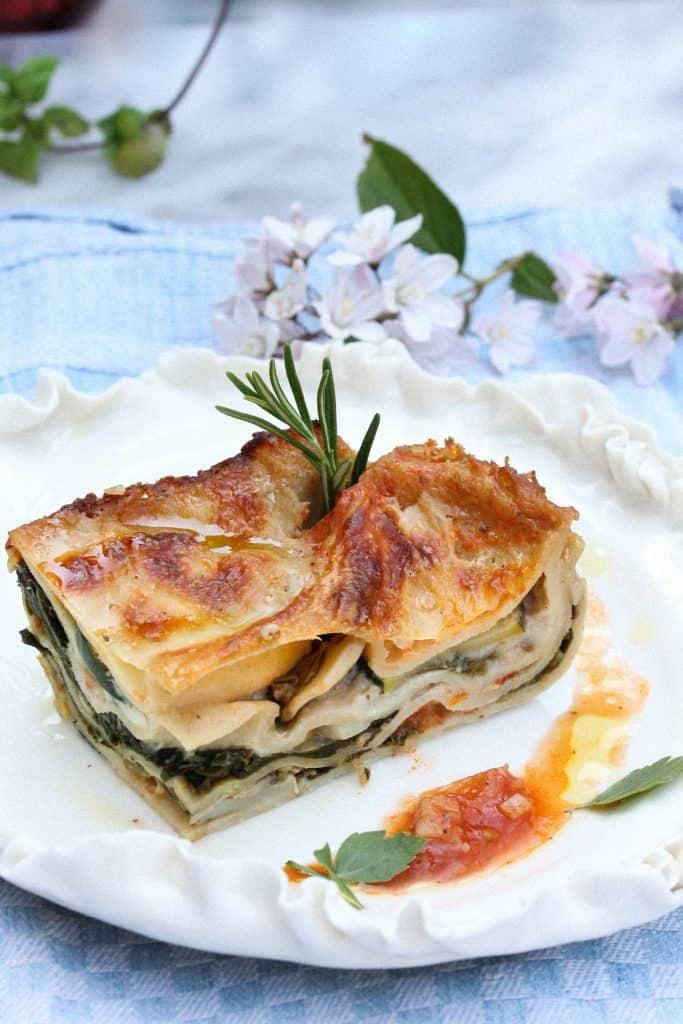 Vegetarian Spinach Lasagne - Truefoodsblog