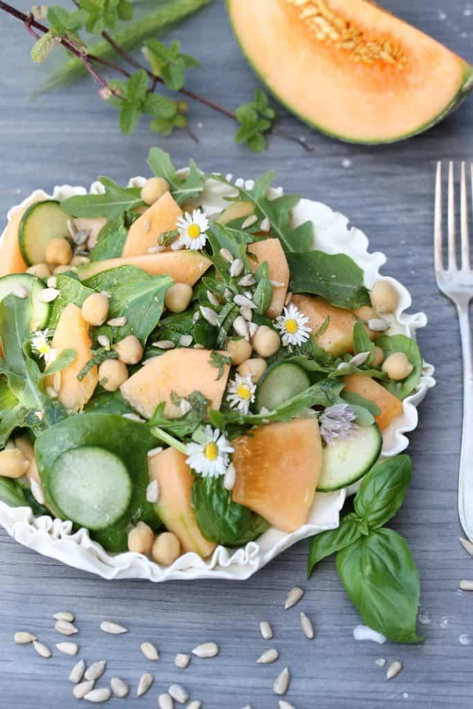 Cantaloupe Salad - Truefoodsblog