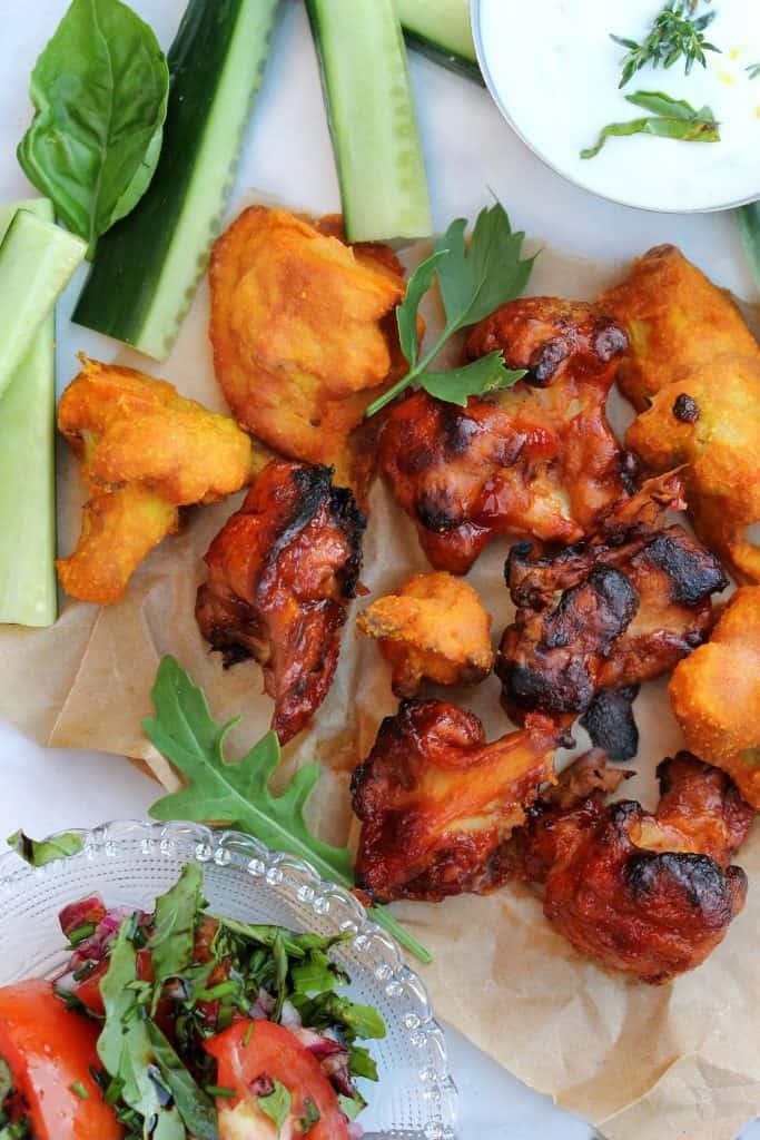 Vegan Cauliflower Wings - Truefoodsblog