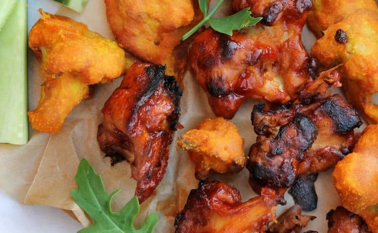 Vegan Cauliflower Wings - Truefoodsblog