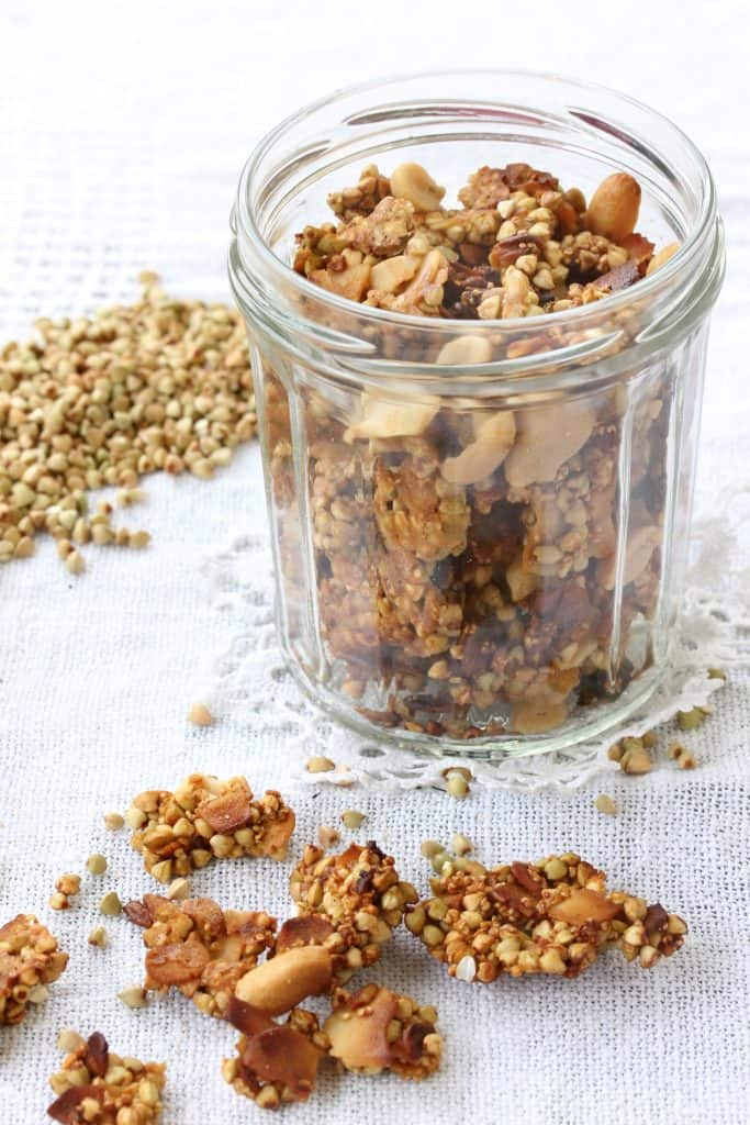 Buckwheat Peanut Tamari Granola - Truefoodsblog