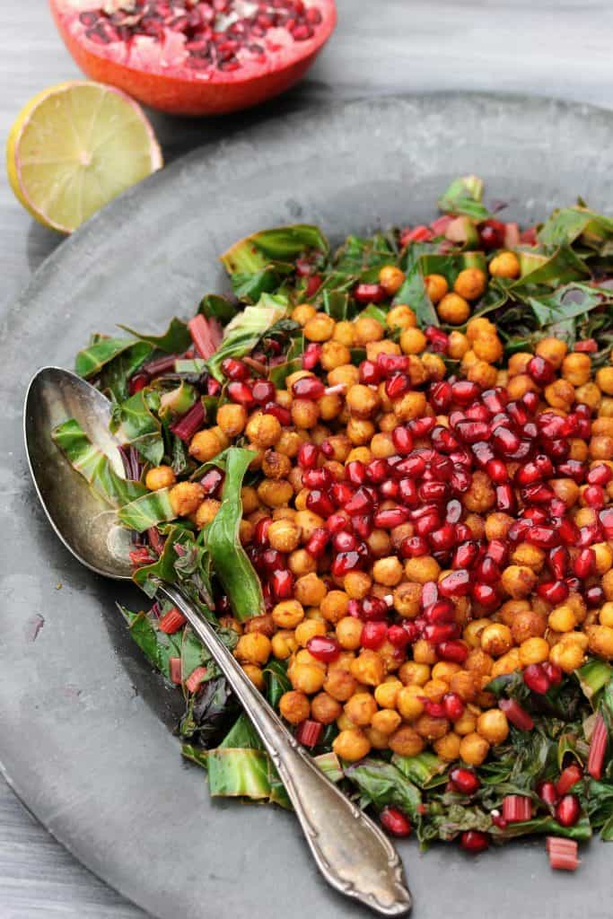 Buffalo - Chickpeas Green Leave Lemon Salad