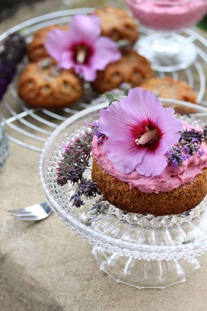 Zucchini Lavender Muffins -Truefoodsblog