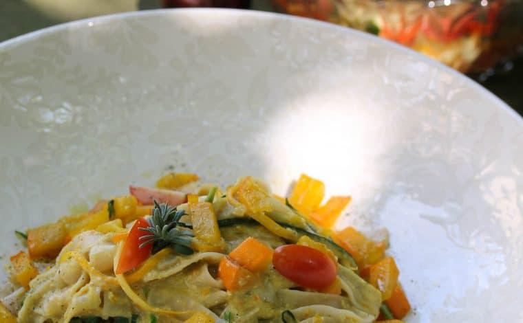 Creamy Cashew Pumpkin Sauce - Truefoodsblog