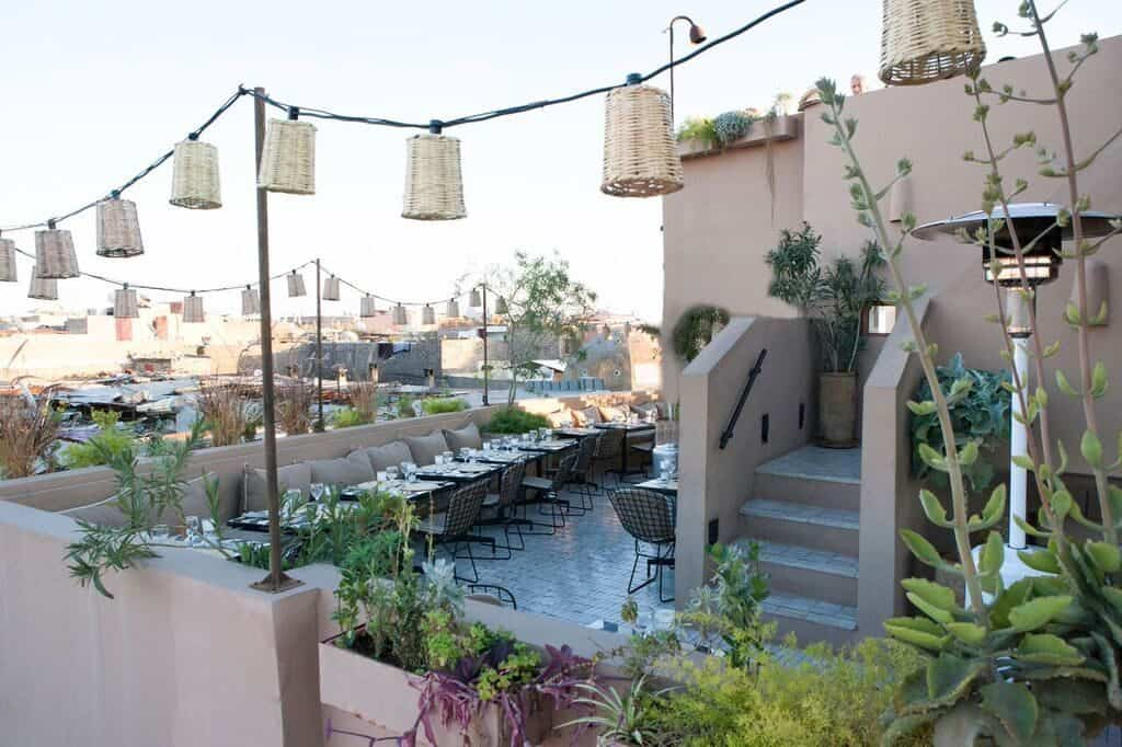 Top 3 restaurants marrakech truefoodsblog restaurant tips for Cafe le jardin marrakech