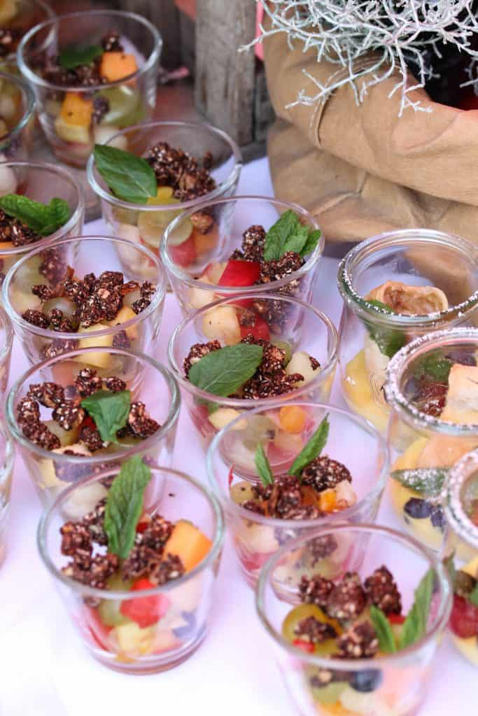 Truefoodscatering- fruit salad & granola