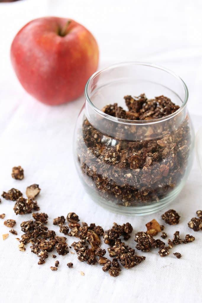 Basic Chocolate Granola - Truefoodsblog