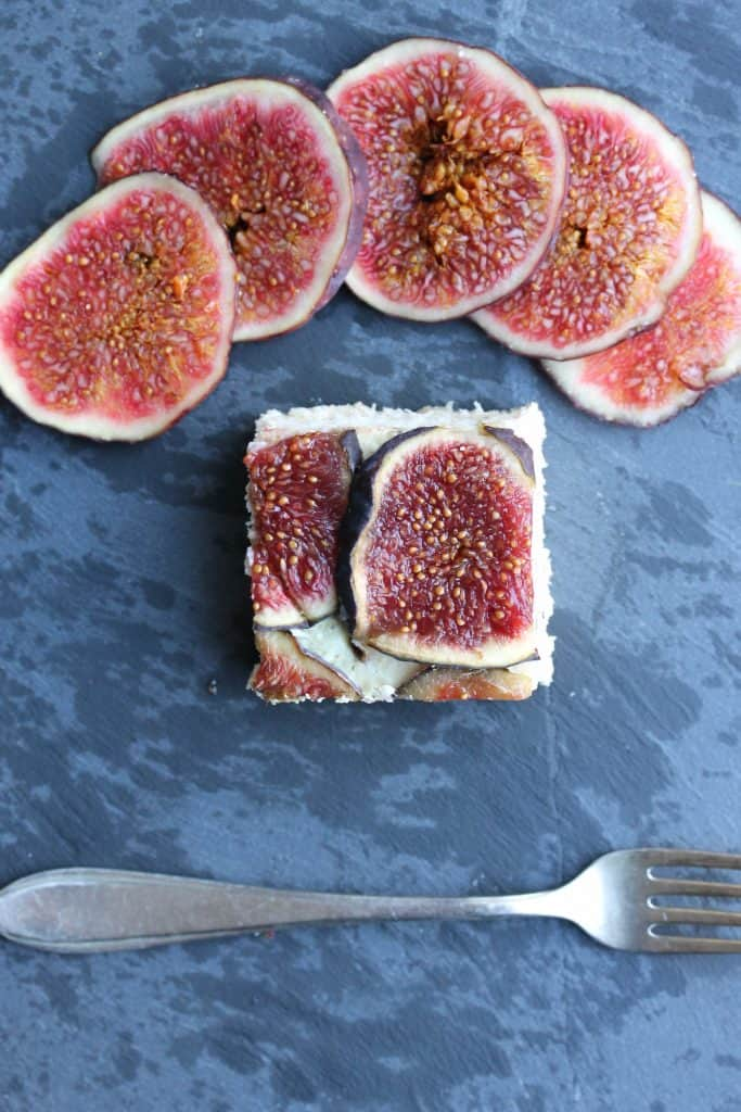 Coconut Cheesecake Fig Chunks - Truefoodsblog