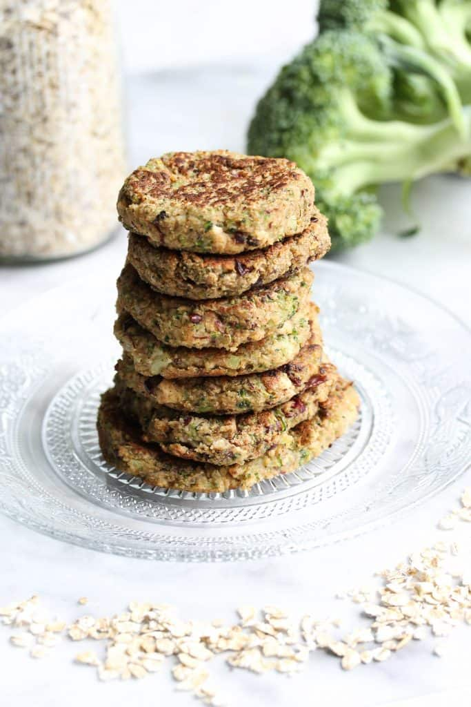 Vegan Broccoli Black Bean Fritters - Truefoodsblog