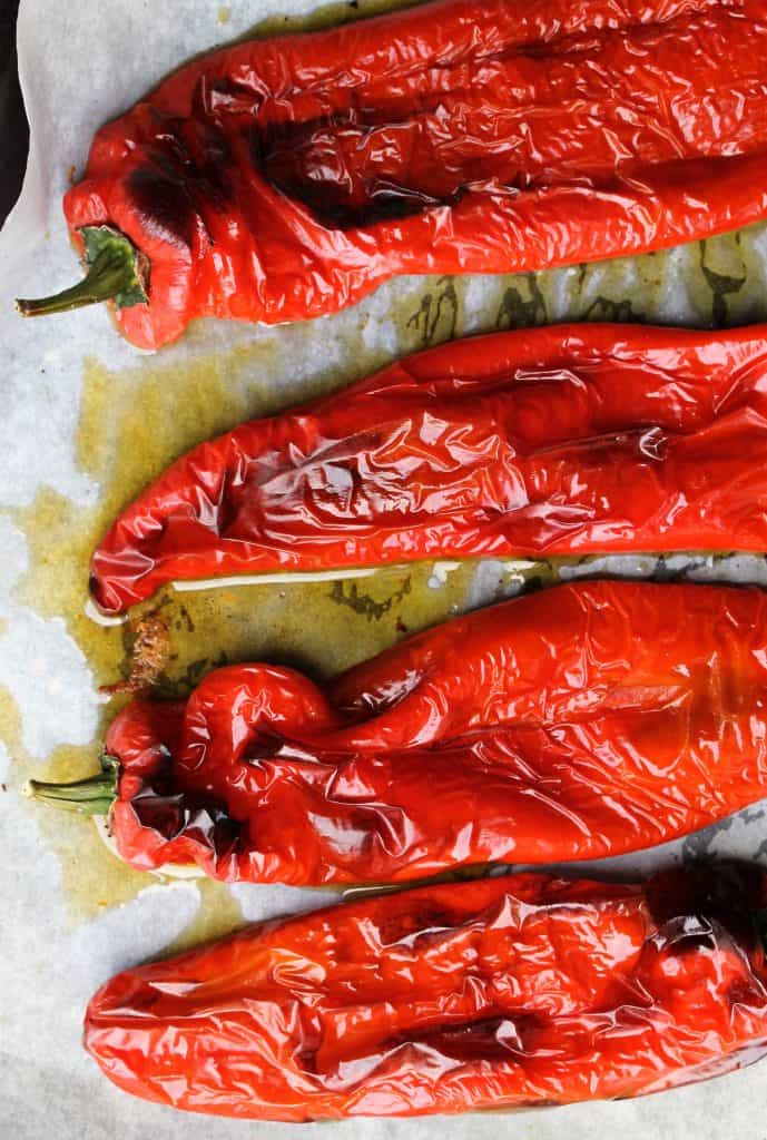 Homemade_Harissa_Roasted_Peppers_Truefoodsblog