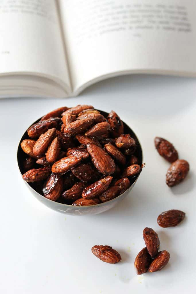 Salty_Sweet_Glazed_Almonds_Truefoodsblog