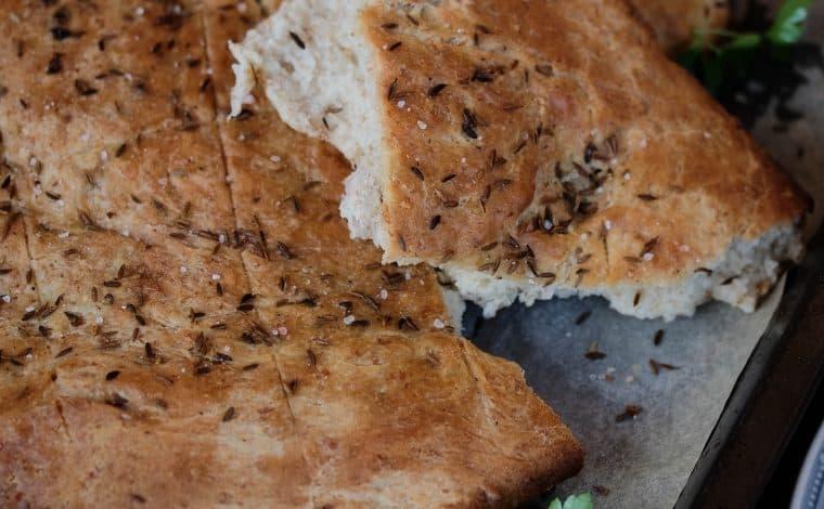 Kumin Flatbread - Truefoodsblog
