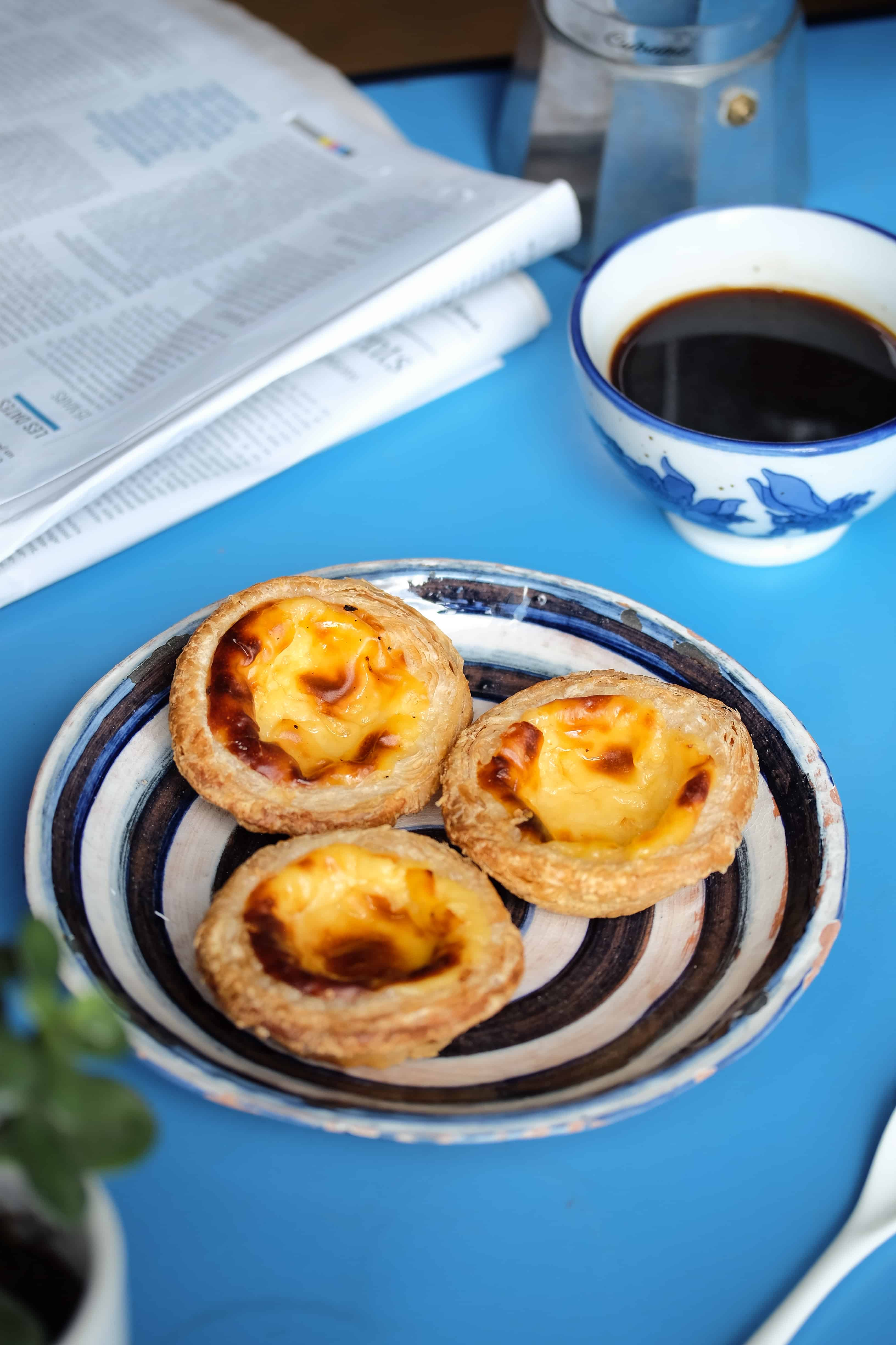 "Pateis de Nata – ""The Blue Morning """