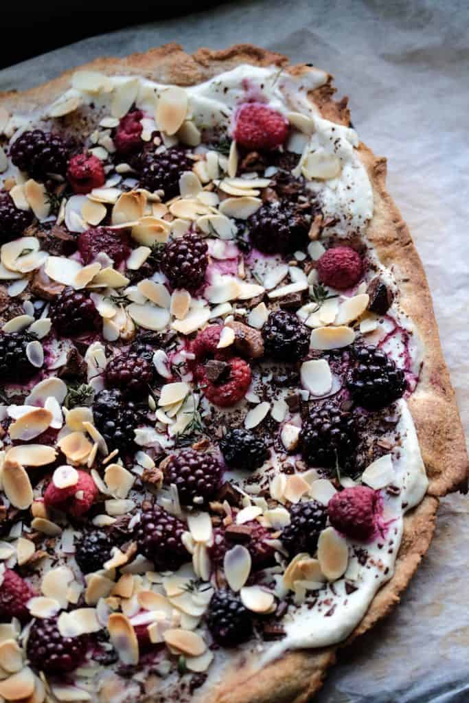 Sweet Pizza - Truefoodsblog