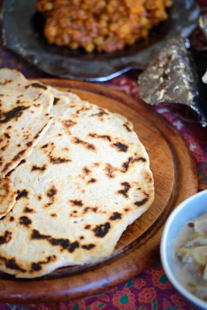 Indian Naan Bread - Truefoodsblog