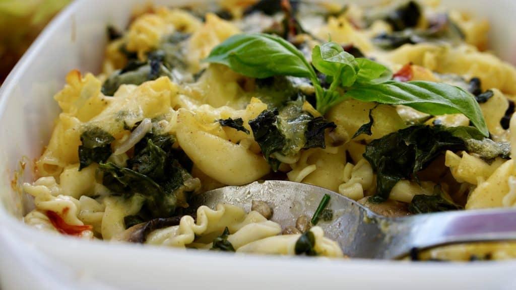 New Zealand spinach gratin - Truefoodsblog