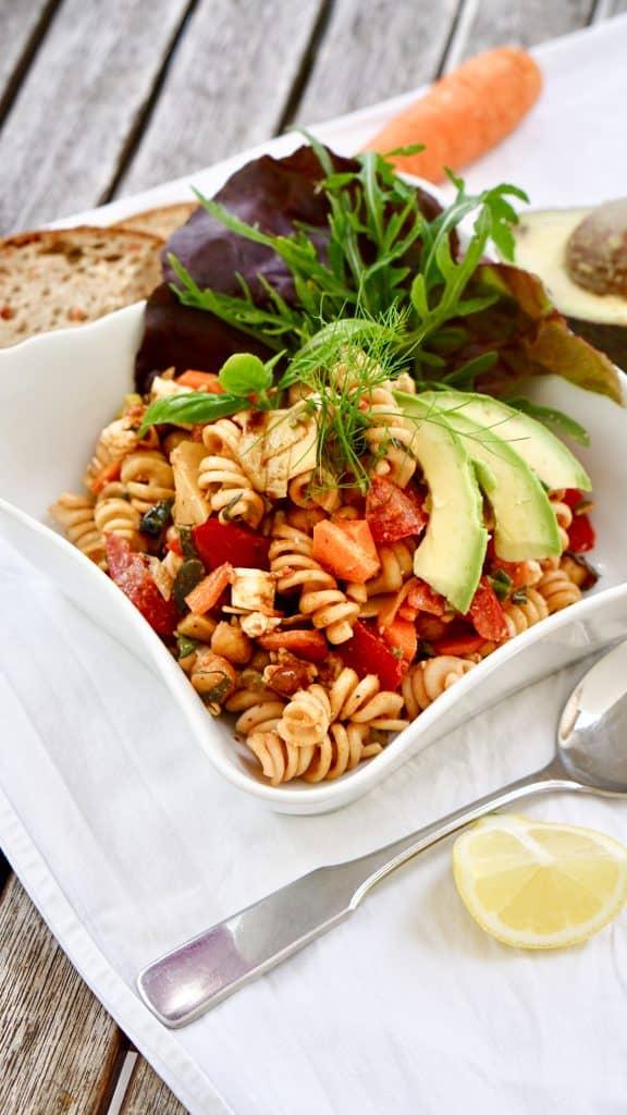 Fast Pasta Salad by Truefoodsblog