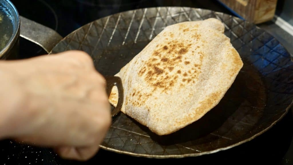 "Indian Chapati Bread - ""Fast Flat Bread Recipe"" by Truefoodsblog"