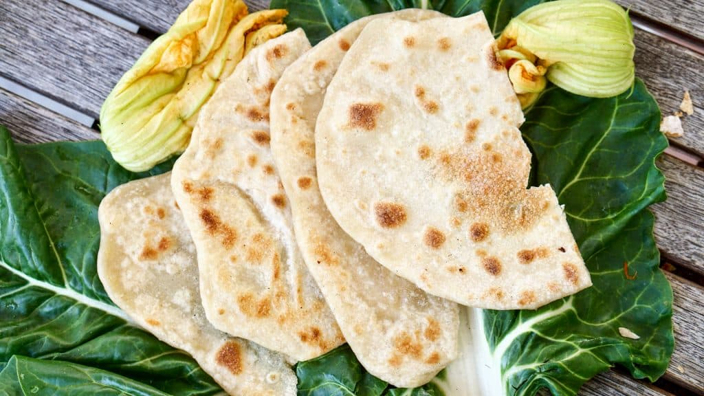 Indian Chapati Bread by Truefoodsblog