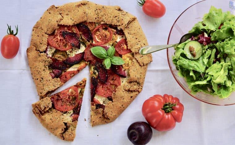 """Tomato Summergalette - """"Savory shortcrust pastry"""" by Truefoodsblog"""