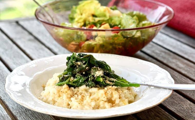 Vegan Classic Risotto by Truefoodsblog