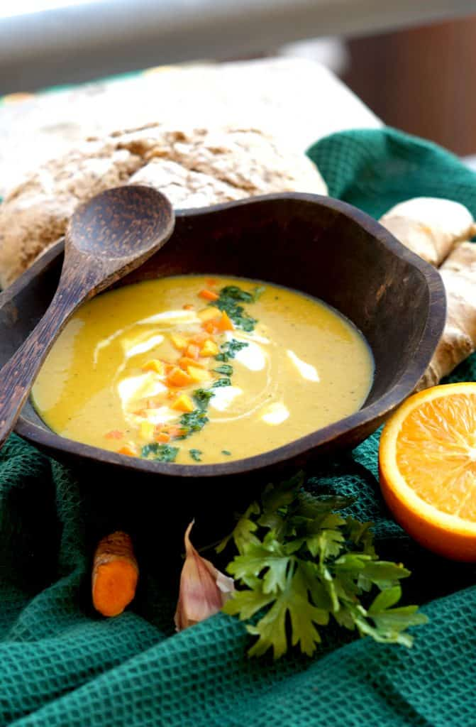 Healing Pumpkin-Curcuma-Ginger Soup - A Real Flu Killer by Truefoodsblog 6
