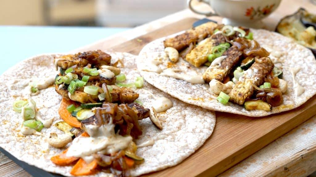 Vegan Tempeh Wrap - Throwback Bali special by Truefoodsblog 3