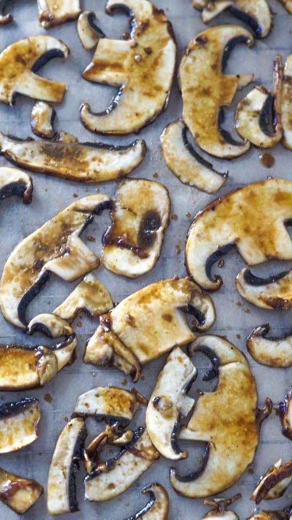 Vegan Portobello Bacon by Truefoodsblog