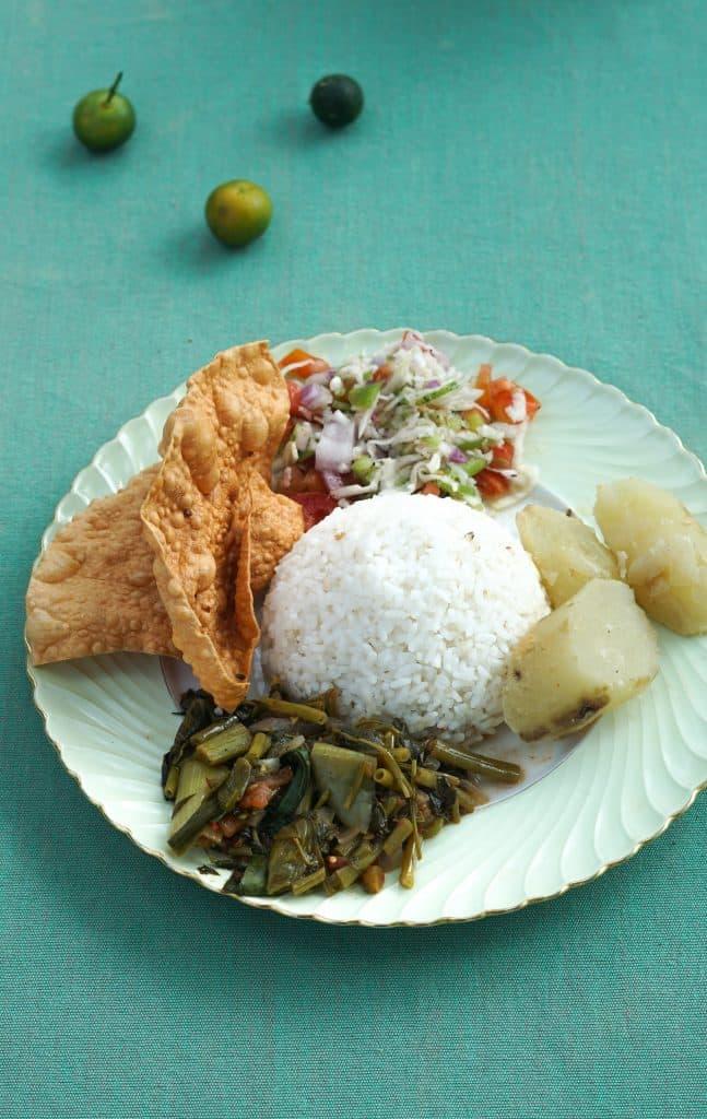 Best Vegan Food on Sri Lanka -