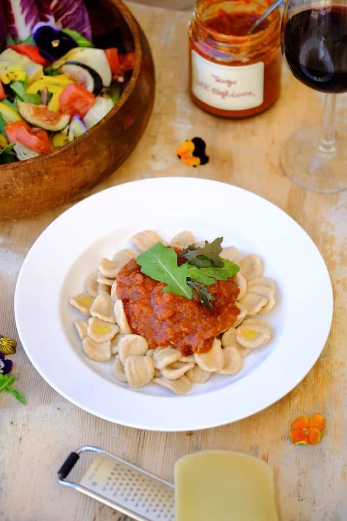 La Vialla Sugo all' Aglione with Oricette by Truefoodsblog-1