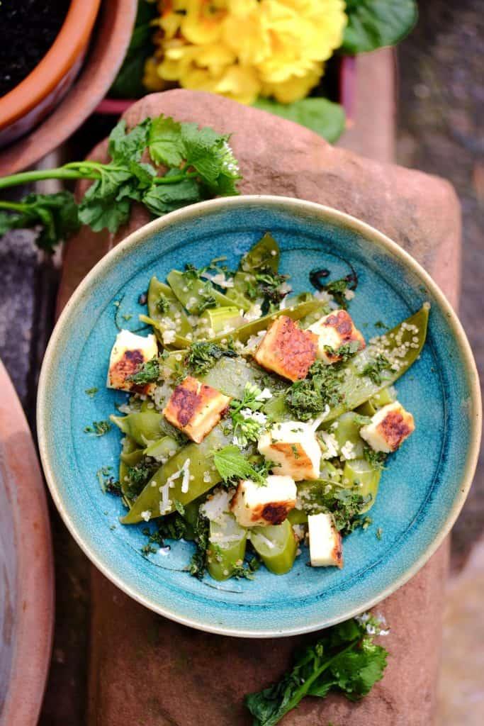Wild Herb Pesto with Quinoa by Truefoodsblog